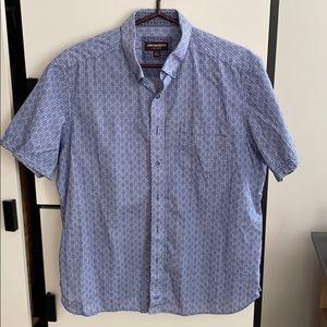 Johnston and Murphy Button Down Shirt L